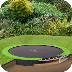 8ft in-ground trampoline 3