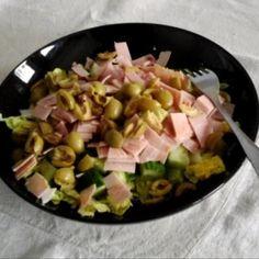 Hawaiian Pizza, Feta, Potato Salad, Food Processor Recipes, Mint, Health, Ethnic Recipes, Health Care, Peppermint