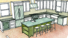 Multipurpose Kitchen Islands - Fine Homebuilding