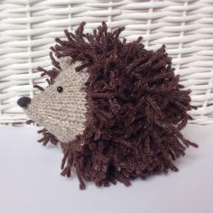 Tweedy Hedgehog in Aran by Amanda Berry - Digital Version | Deramores