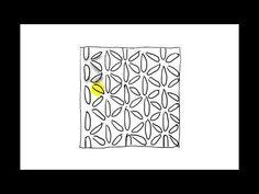 Zentangle Patterns   Tangle Patterns - Quandary - YouTube