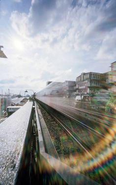 Enrico Drescher Hamburg, Hochbahn Agfa Billy Compur 6x9, f/160, 40mm