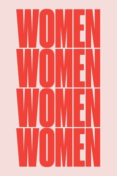 The Pink + Red Trend // Red and pink Women poster by For All Womankind Poster S, Poster Wall, Poster Prints, Art Room Posters, Quote Posters, Photo Wall Collage, Picture Wall, Typographie Logo, Women Poster