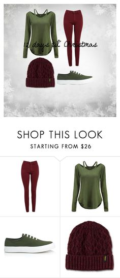 """12 days til' Christmas"" by godsnotdead218 on Polyvore featuring AG Adriano Goldschmied, Maison Kitsuné and Dr. Martens"