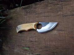 faca artesanal com bainha