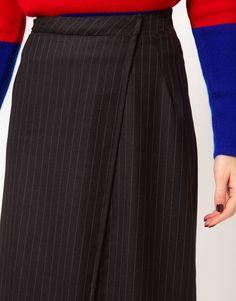 Wool skirt weight