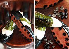 Unique handmade, bespoke men's shoes. Modell: Golf modell .