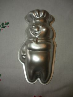 Vintage 1975 Pillsbury Dough Boy Aluminum by WhereTheRoosterCrows, $10.00