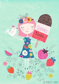 ice-cream girl (mint)   Flickr - Photo Sharing!