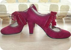 Vintage 90s Oxblood Babydoll Mary Janes High by IntrigueU4Ever, $35.50