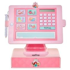 Disney Princess Style Collection Cash Register with sounds and working drawer Little Girl Toys, Toys For Girls, Kids Toys, Little Girls, Big Boys, Disney Princess Toys, Disney Princesses, Minnie Mouse Toys, Cash Register