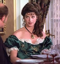 TV historical dramas were not known for historically accurate costumes. But we're going to snark them anyway. Civil War Movies, 1980s Tv, Kirstie Alley, Olivia Hussey, Image Film, Civil War Photos, North South, Historical Costume, Movies