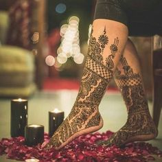 30 latest bridal mehndi designs of 2018 - Blog