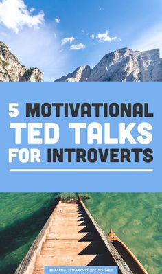 In this article, I'm sharing 5 motivational TED talks for introverts. I am an introvert. I can say that with pride today, but it wasn't always that way. Ted Talks, Self Development, Personal Development, Human Body Unit, Introvert Problems, Physical Education Games, Science Education, Deaf Culture, Self Motivation