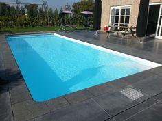 zwembad met liner Elbe white