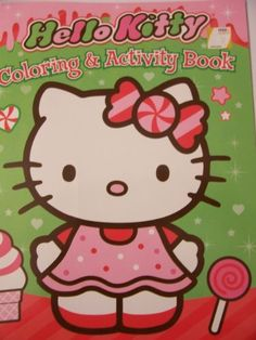 Hello Kitty Coloring Activity Book Christmas Holiday Edition Sweet Treats By