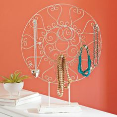 Iron Medallion Jewelry Display | PBteen