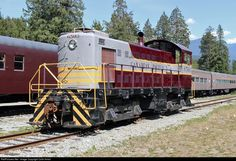CP 6503 Canadian Pacific Railway Alco S3 at Squamish, British Columbia, Canada by Colin Arnot