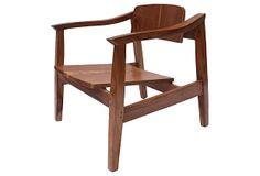 Mid-Century Modern  Armchair on OneKingsLane.com