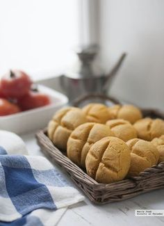 Panecillos de maíz. Receta para un desayuno sin gluten Gluten Free Recipes, Vegan Recipes, Cooking Recipes, Vegan Food, Thermomix Bread, Pan Dulce, Pan Bread, Spanish Food, Spanish Recipes