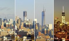 Time-lapse video shows the One World Trade Centre built over six years