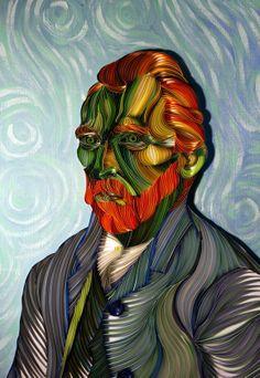 Vincent van Gogh By Sanqman