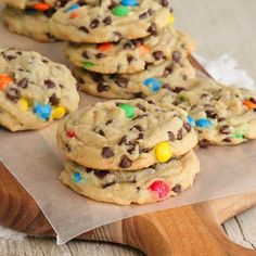 M & M Pudding Cookies