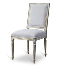 Clairette Wood Traditional French Accent Chair - Overstock™ Shopping - Great Deals on Baxton Studio Living Room Chairs