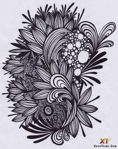 Doodle | Wonderful Doodle Artwork doodle-art-10 – Modern Art, Design Ideas