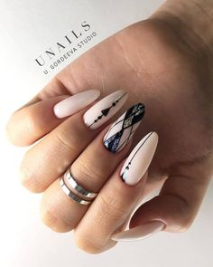 These nail designs are actually as easy as they are lovely. For anybody who is always looking for ideas and fresh designs, nail art designs are a great way to demonstrate your character and also to be original. Nail Art Diy, Cool Nail Art, Line Nail Art, Nail Manicure, Diy Nails, Gorgeous Nails, Pretty Nails, Simple Nail Art Designs, Instagram Nails