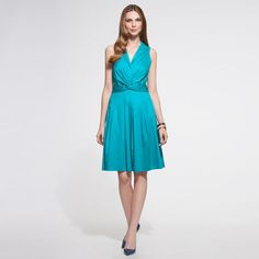 Add a jacket or cardigan and you have a professional look for the office.  Anne Klein: Sale > Dresses > Doris With A Twist