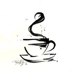 Coffee Cup Mug Design tattoo