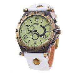 $4.15 (Buy here: https://alitems.com/g/1e8d114494ebda23ff8b16525dc3e8/?i=5&ulp=https%3A%2F%2Fwww.aliexpress.com%2Fitem%2F2016-Luxury-Brand-Vintage-Leather-Brand-Roman-Numerals-Big-Dial-Hour-Watch-Men-Women-Wristwatch-Ladies%2F32761580022.html ) 2016 Luxury Brand Vintage Leather Brand Roman Numerals Big Dial Hour Watch Men Women Wristwatch Ladies Dress Quartz Watch for just $4.15