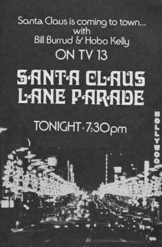 Los Angeles Santa Claus Lane Parade 1971