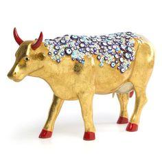 Cow Parade - Evil Eye Cow Cow Parade, Turkish Jewelry, Animal Jewelry, Cows, Victorian Era, Evil Eye, Moose Art, Statue, Beautiful