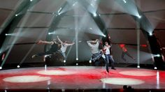SYTYCD - The Top 5 guys perform a group routine choreographed by Tabitha and Napoleon Dumo.