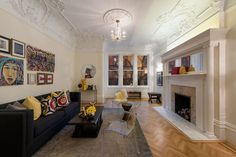 1884 Upper West Side Townhouse clarence-true-townhouse-2.jpg  as featured in Architectural Digest