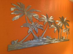 """Determine additional relevant information on """"metal tree art projects"""". Have a look at our web site. Metal Tree Wall Art, Metal Artwork, Decoration, Art Decor, Tropical Artwork, Colorado, Tree Artwork, Palmiers, Oeuvre D'art"""