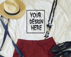 each week new sytlish mockups by Bellamocks on Etsy News Design, Marketing And Advertising, Trending Outfits, Summer, Etsy, Summer Time
