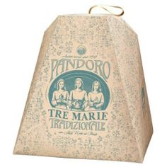 PastaCheese - Tre Marie Pandoro with Hints of Honey Ital - 2316
