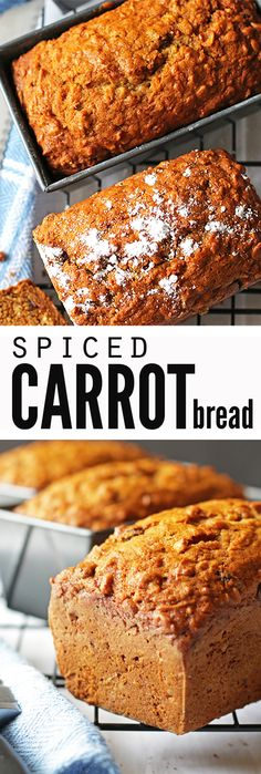 This delicious spiced carrot bread with vanilla chips is a simple and easy recipe designed for the novice bread maker! This recipe is so moist and so tasty, your family won't even know it's carrot bread! Bread Maker Recipes, Baking Recipes, Real Food Recipes, Dessert Recipes, Yummy Food, Bread Machine Recipes Healthy, Easy Bread Recipes, Skillet Recipes, Apple Desserts