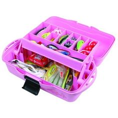1000 images about fishing tackle boxes on pinterest for Pink fishing gear
