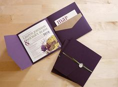 DIY pocketfold invites wedding-3