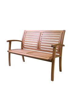 Outdoor Interiors Eucalyptus 4-ft. Luxe Bench, Brown, http://www.myhabit.com/redirect/ref=qd_sw_dp_pi_li?url=http%3A%2F%2Fwww.myhabit.com%2Fdp%2FB0082879D8
