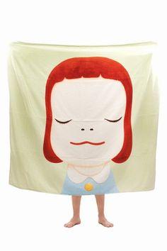 Yoshitomo Nara towel