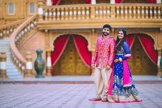 Photographer - The Grand Wedding! Photos, Hindu Culture, Beige Color, Hairstyle, Sangeet Makeup, Designer Groom Wear pictures, images, WeddingPlz