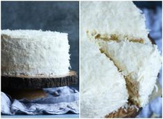 The Very Best Coconut Cake Recipe EVER! Fluffy, soft, with the perfect amount of coconut flavor, topped with creamy coconut buttercream frosting! #cookiesandcups #coconutcake #cakerecipe #cake #buttercream #coconutfrosting Best Coconut Cake Recipe Ever, Coconut Recipes, Coconut Buttercream, Buttercream Frosting, Perfect White Cake Recipe, Sweet Recipes, Cake Recipes, Dessert Recipes, Coconut Pineapple Cake