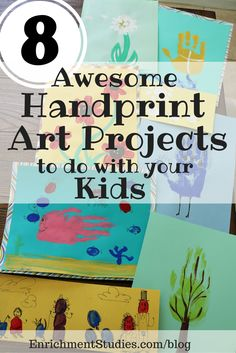 Welcome to one of the projectsin our series 8 Awesome Handprint Art Projects to do With Your Kids! To learn more about the project and see a complete list of methods, materials and projects, click here to start at the beginning. (new tab will open for you) Affiliate links have been used. 2. Tree Supplies …