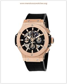 e5f23dd9750 Hublot Aero Bang Gold Men s Watch Price. Men s Luxury Watches