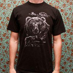 Killer Grizzly Bear Tshirt by RomancingTheGhost on Etsy, $15.50